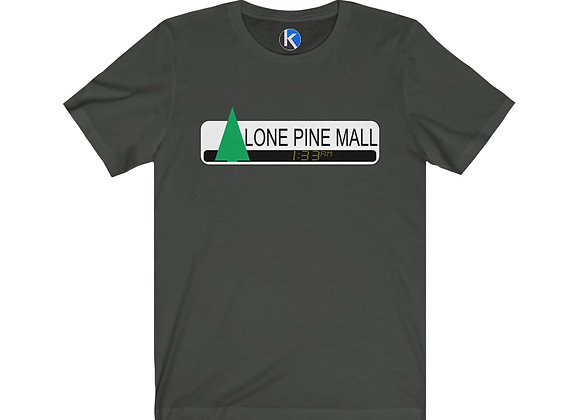 Lone Pine Mall Twin Pines Back To The Future Cotton Crew Tee