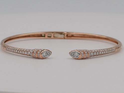 Diamond Bracelet- 18K Rose Gold