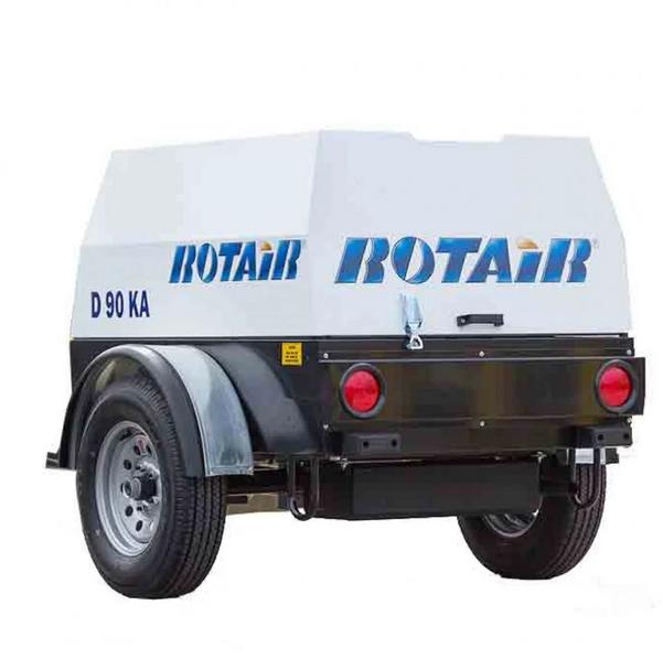 Rotair 90CFM & 180 CFM compressors