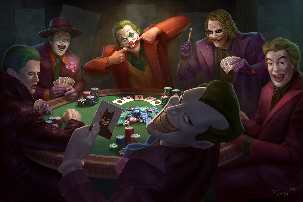 """Jokers Playing Poker"" by TamTam The Destroyer on imgur"