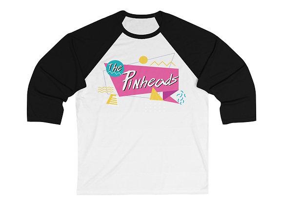 The Pinheads Tour 1985 3/4 sleeve raglan