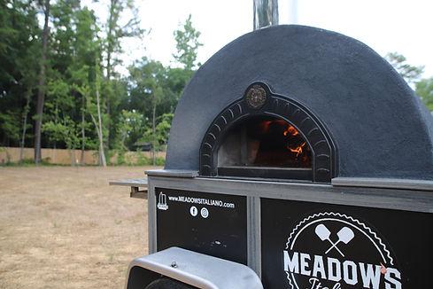 Pizza Catering Mooresville North Carolina Mobile Pizza Oven Meadow's Italiano