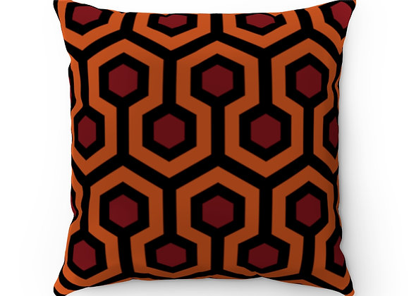 Overlook Hotel Polyester Square Pillow Case from The Shining