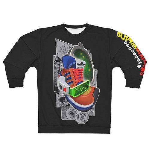 Adidas AX500 Dragonball Z Goku Karicature Kicks Unisex Sweatshirt