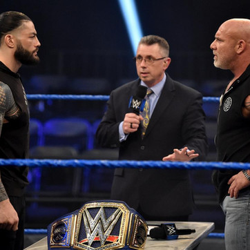 """Goldberg Calls Out Roman Reigns- """"It's Comin', and I'm Comin' For Ya."""" During WWE's 'The Bump'"""