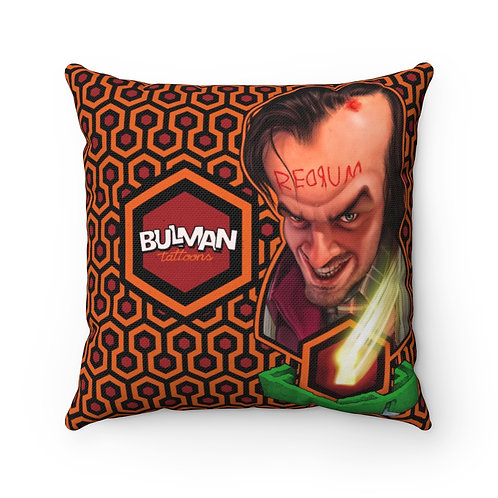 All work no play Spun Polyester Square Pillow