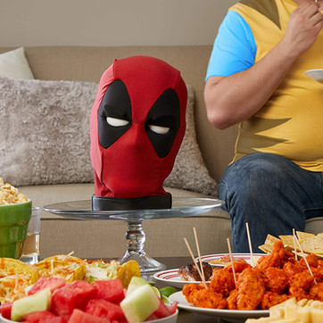 Hasbro & Marvel have made a 600-phrase animatronic Deadpool head, and I need it NOW.