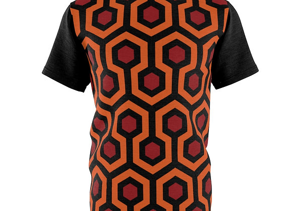 Overlook Hotel Carpet All-Over-Print Tee homage to The Shining