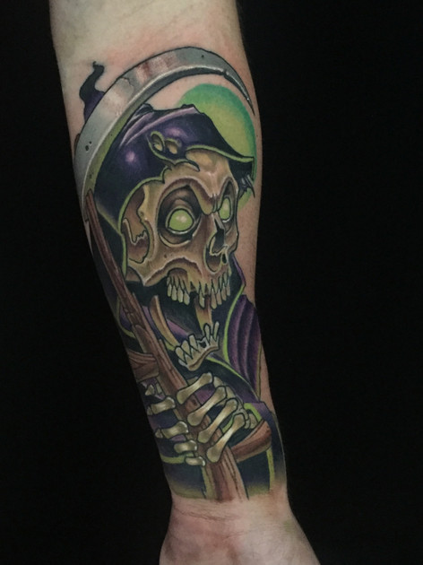 Jared Stomber- Tattoo Artist at Empire S