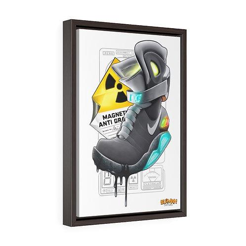 Nike Air Mag Premium Gallery Wrap Canvas- Karicature Kicks