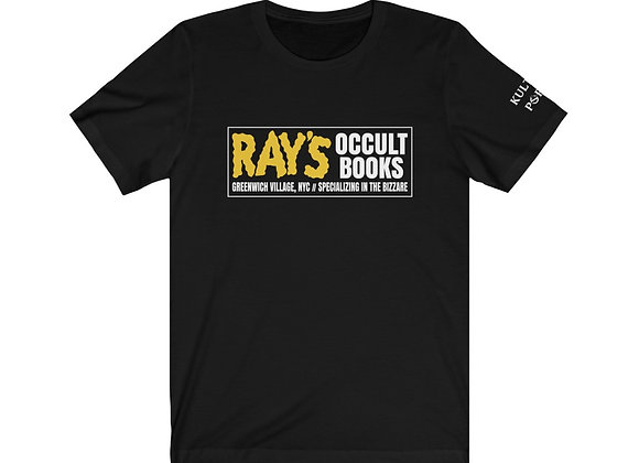 Ray's Occult Books homage  to Ghostbusters II Short Sleeve Tee