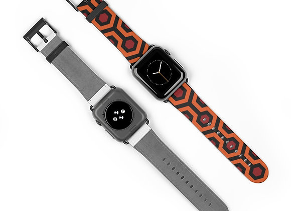 Overlook Hotel Carpet Apple Watch Band- The Shining