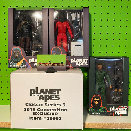 NECA Planet of The Apes Series 3