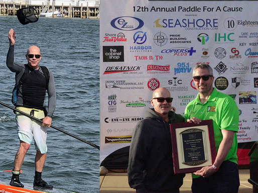 Dean Randazzo Brings 'Won't Quit' Attitude To Paddle Race