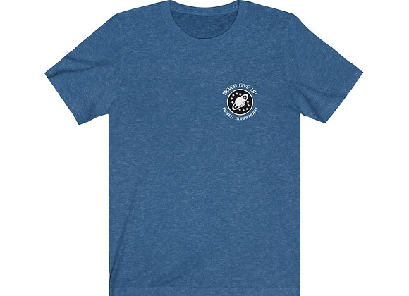 """Galaxy Quest """"Never Give Up, Never Surrender"""" NSEA- Protector shirt"""
