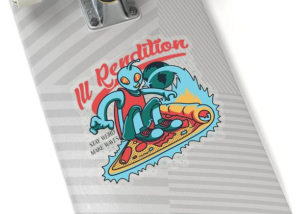 "Ill Rendition ""Gill"" Kiss-Cut Stickers"