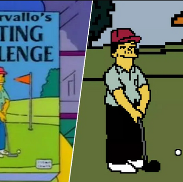 """You can now play """"Lee Carvallo's Putting Challenge"""" from S7 E11 of The Simpsons."""