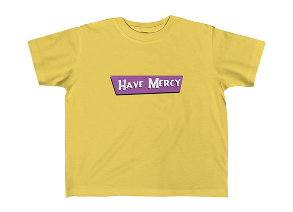 Kids' Tee- Have Mercy Full House homage to Stephanie Tanner