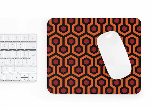 Overlook Hotel Carpet Pattern Mousepad : The Shining homage