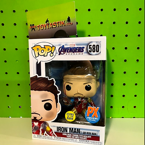 I Am Iron Man Tony Stark Funko Pop