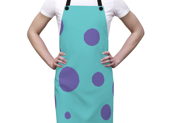 "Sully ""fur print"" pattern Monster's Inc apron!"