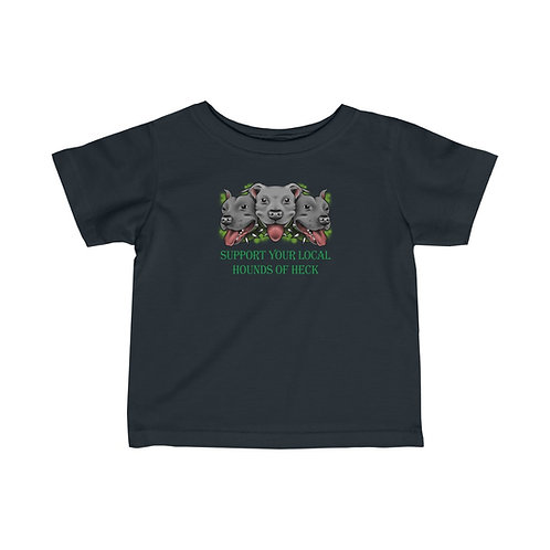 Support Your Local Hounds Infant Tee