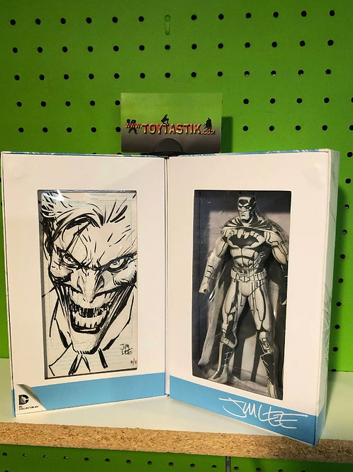 DC Comics Collectibles Jim Lee Blueline Batman Original Sketch Joker