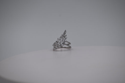 14k Feather Ring