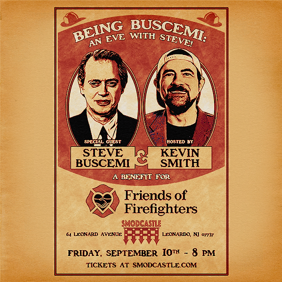 Being Buscemi: An Eve With Steve!