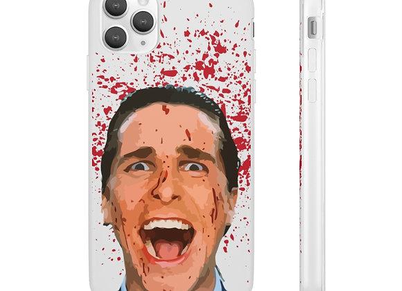 Patrick Bateman American Psycho iPhone Samsung Flexi Phone Case