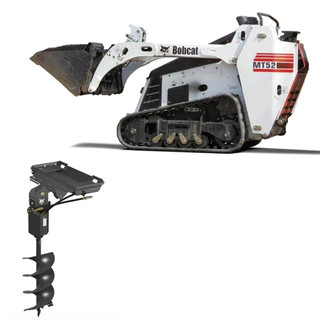 Bobcat MT52 w/ auger attachment