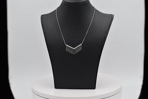 Diamond Geometric Pendant