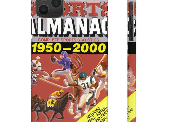Grays Sports Almanac Slim Phone Cases Back To The Future