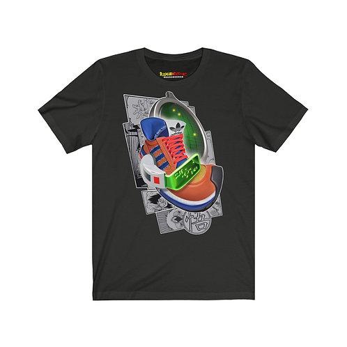 Adidas AX500 Dragonball Z Goku Karicature Kicks Unisex Tshirt