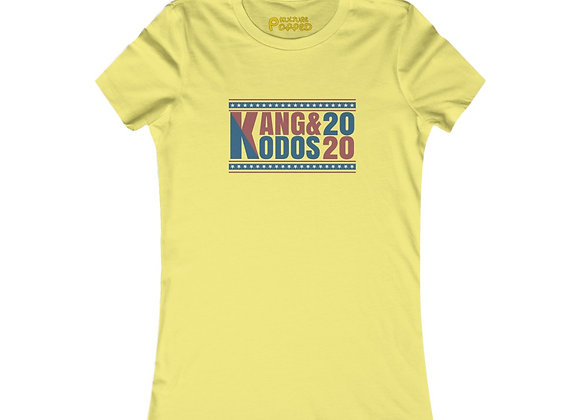 Kang & Kodos 2020 Political Election Women's Tee homage to The Simpsons