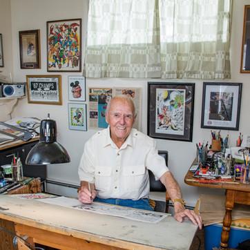 "Joe Sinnott, Legendary Marvel Comics Artist and ""Inker Of The Greats"" passes away at 93."