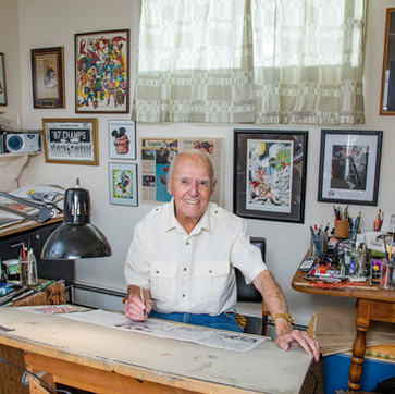 "Joe Sinnott, Legendary Marvel Comics Artist and ""Inker Of The Greats"" passes away at 93."