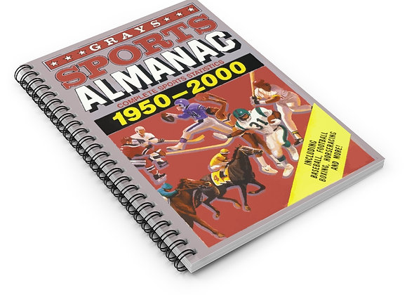 Gray's Sports Almanac Spiral Notebook Back To The Future