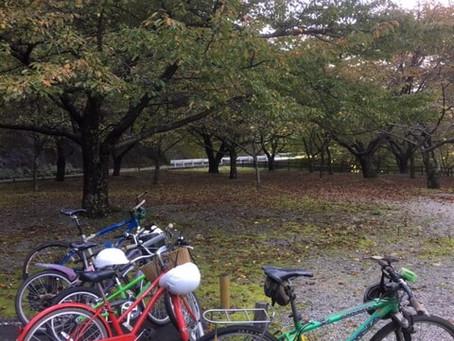 ダム湖一周ファミリーサイクリング