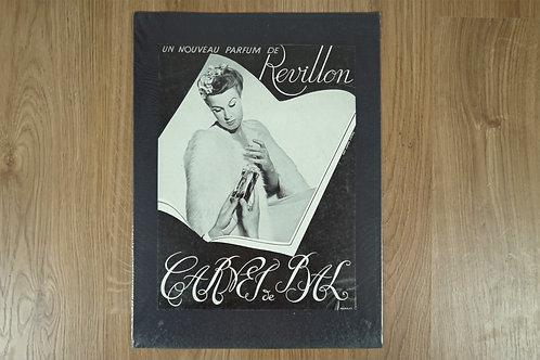 """Affiche Parfum """"Revillon"""""""