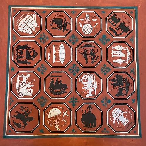 Carton foulard