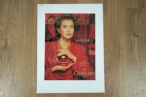 "Affiche ""Samsara"" de Guerlain"