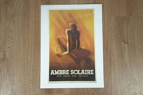 "Poster ""Solar Amber"""