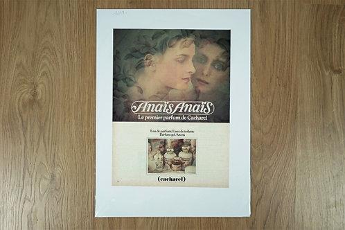 "Poster ""Anaïs Anaïs"" by Cacharel"