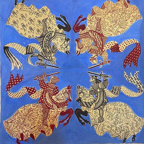 Carton à foulard