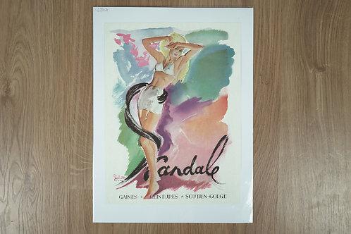 "Affiche ""Scandale"""