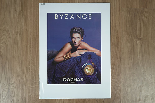 """Affiche """"Byzance"""" de Rochas"""