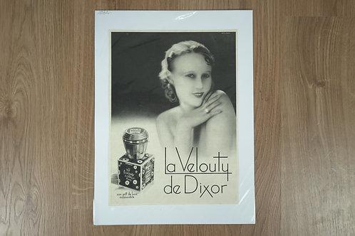 """Affiche """"La Velouty de Dixor"""""""