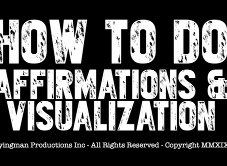 How to do Affirmations & Visualizations