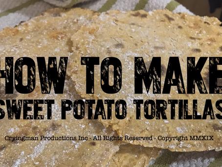 Sweet Potato Tortillas